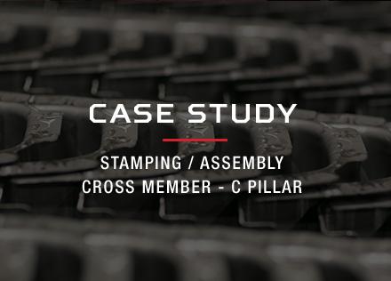 Stamping / Assembly, Cross Member - C Pillar