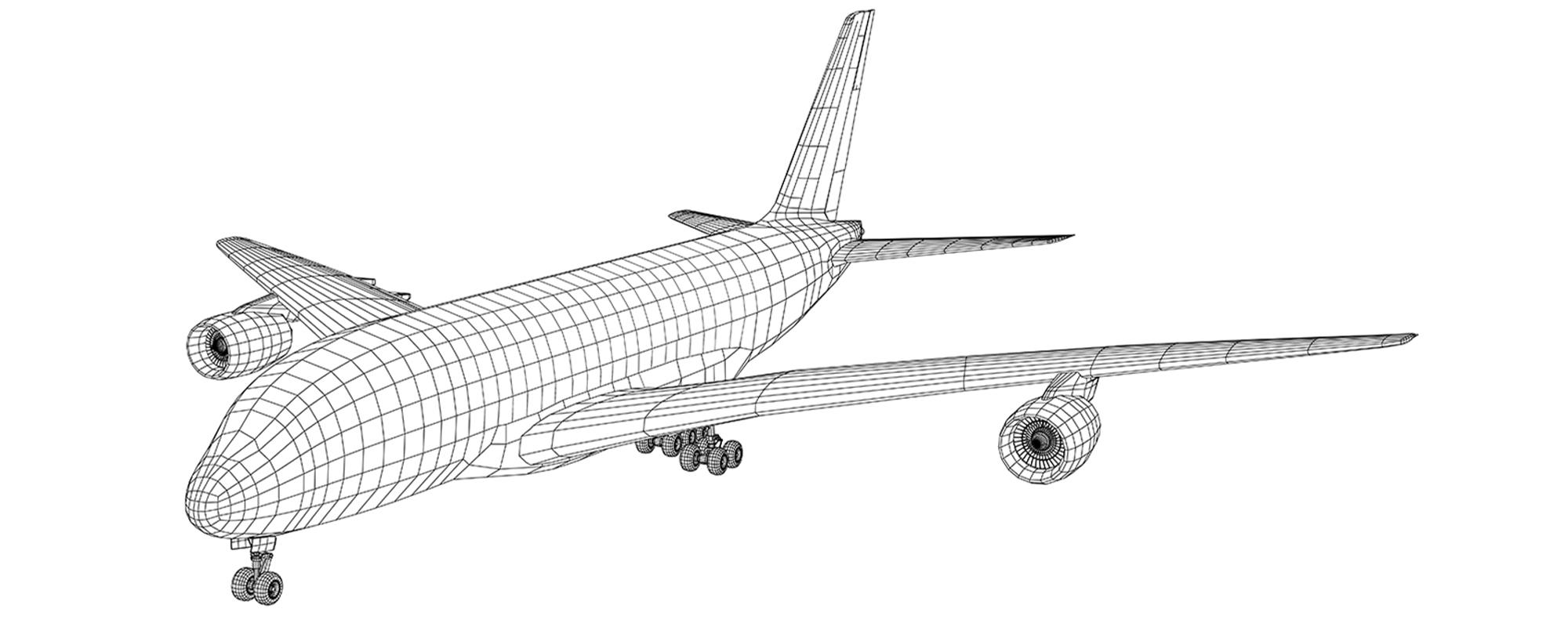 airplane-illustration